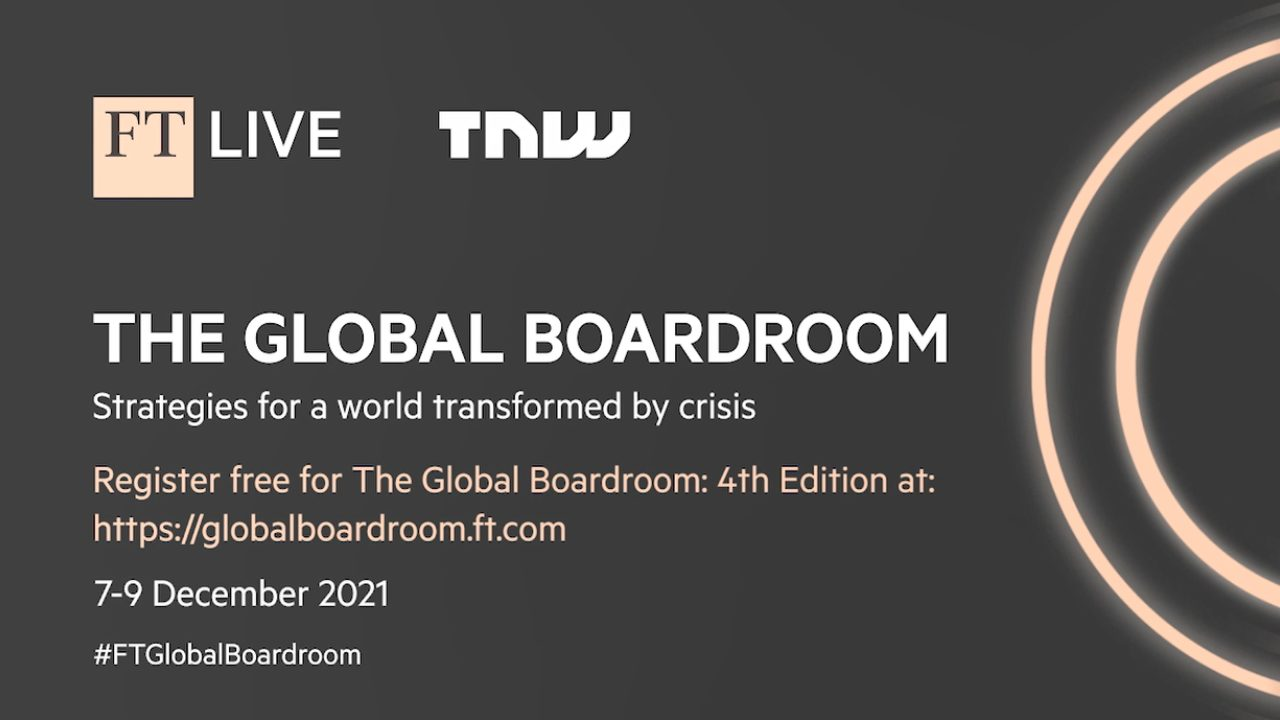 The Global Boardroom returns in December